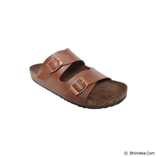 VEGA SLIPPERS Sandal For Women Size 39 - Brown - Slippers Wanita