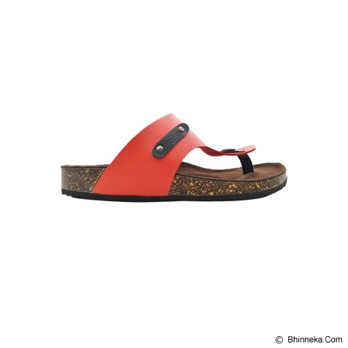 VEGA SLIPPERS Sandal For Women Size 38 - Red - Slippers Wanita