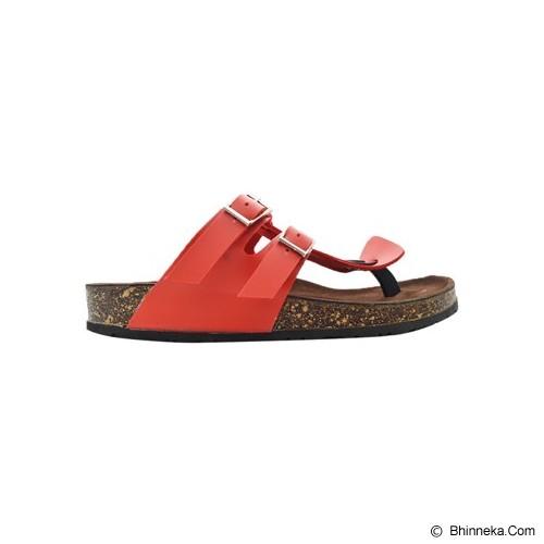 VEGA SLIPPERS Sandal For Women Size 37 - Double Red - Slippers Wanita