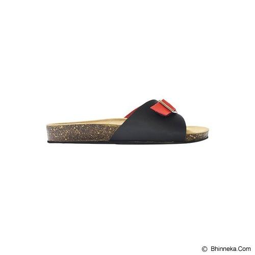 VEGA SLIPPERS Sandal For Women Size 38 - Red Black - Slippers Wanita