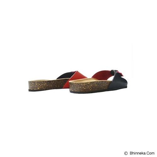VEGA SLIPPERS Sandal For Women Size 40 - Red Black - Slippers Wanita
