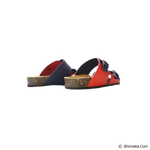 VEGA SLIPPERS Sandal For Women Size 36 - Red Blue - Slippers Wanita