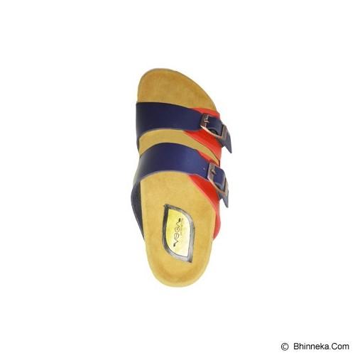 VEGA SLIPPERS Sandal For Women Size 37 - Red Blue - Slippers Wanita