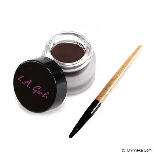 L.A. GIRL Gel Liner Kit - Dark Brown - Eyeliner