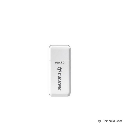 TRANSCEND USB 3.0 Card Reader [TS-RDF5W] - White - Memory Card Reader External