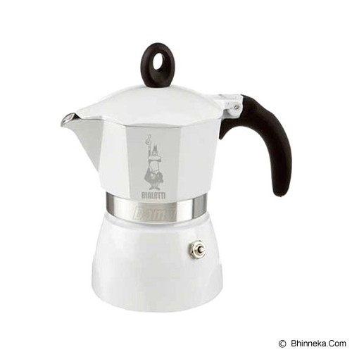BIALETTI Dama White 3 Cup - Mesin Kopi Manual