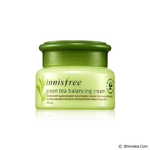 INNISFREE Green Tea Balancing Cream - Krim / Pelembab Wajah