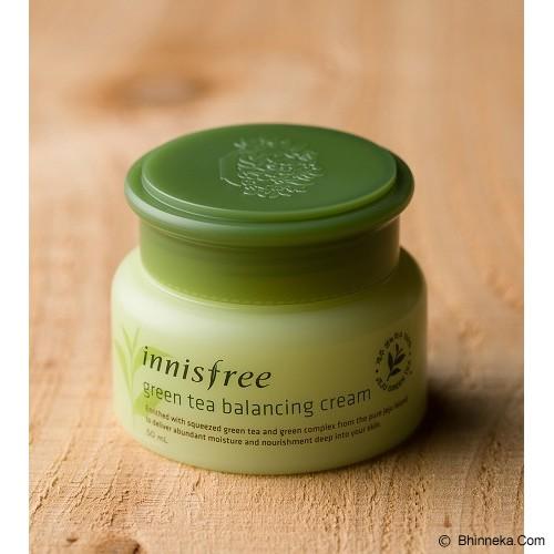 INNISFREE Green Tea Balancing Cream - Krim / Pelembab Wajah