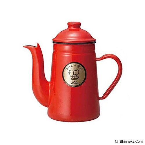 KALITA Coffee Kettle Pelican 1L - Red - Kendi / Pitcher / Jug