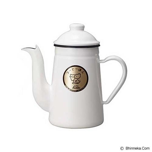 KALITA Coffee Kettle Pelican 1L - White - Kendi / Pitcher / Jug