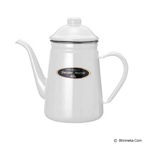 KALITA Narrow Mouthed Coffee Kettle 1L - White - Kendi / Pitcher / Jug