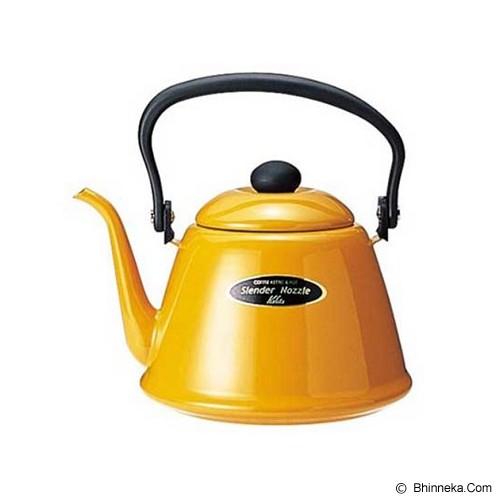 KALITA Narrow Mouthed Coffee Kettle 2L - Yellow - Kendi / Pitcher / Jug