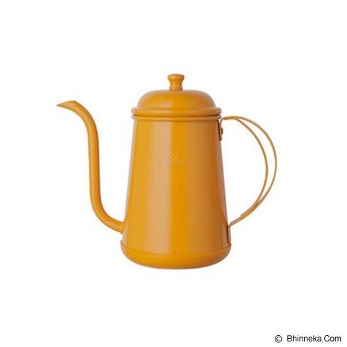 KALITA Narrow Mouthed Pot 0.7L - Yellow - Kendi / Pitcher / Jug