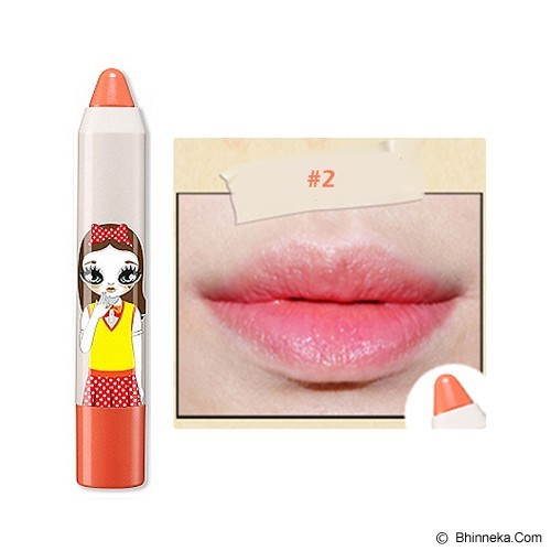 PERIPERA Peri's Tint Crayon #2 - Orange - Lip Gloss & Tints
