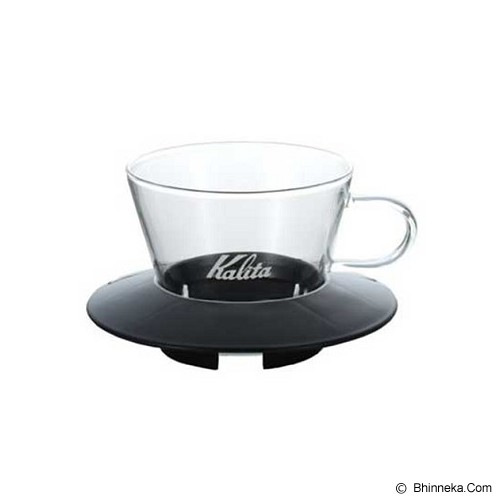 KALITA Glass Dripper [155] - Black - Gelas