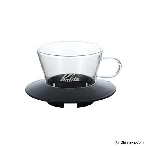 KALITA Glass Dripper [155] - Black - Gelas