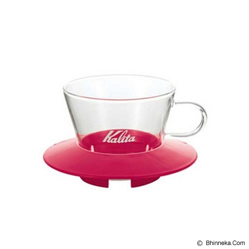 KALITA Glass Dripper [155] - Pink - Gelas