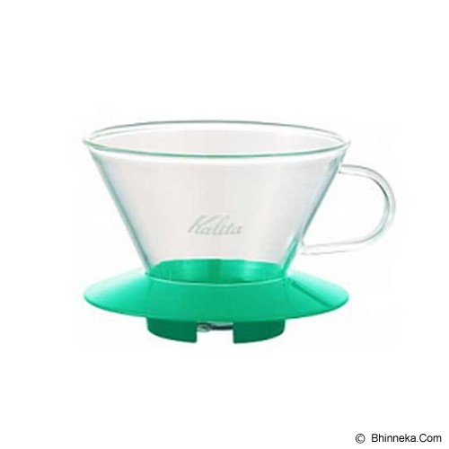 KALITA Glass Dripper [185] - Green - Gelas
