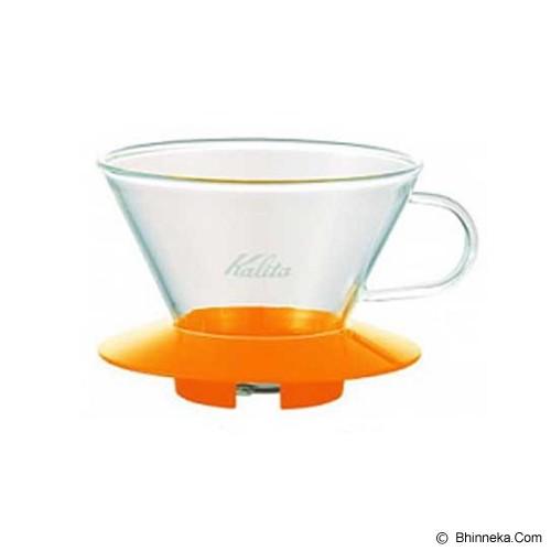 KALITA Glass Dripper [185] - Yellow - Gelas