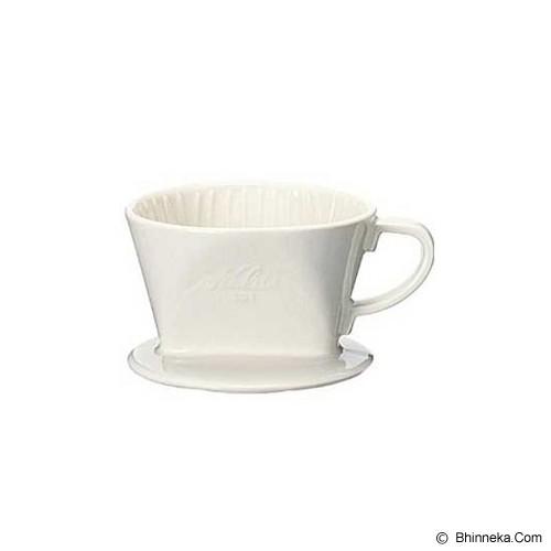 KALITA Ceramic Dripper [101] - White - Gelas
