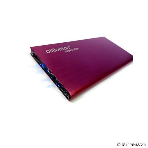 ANYLINX Powerbank 10400mAh Super Slim - Pink - Portable Charger / Power Bank