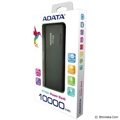 ADATA Powerbank [PT100] - Black - Portable Charger / Power Bank