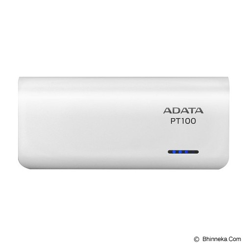 ADATA Powerbank [PT100] - White - Portable Charger / Power Bank
