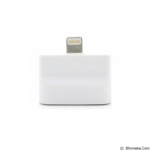 ANYLINX 2 in1 Micro USB + 30 pin + Ipad to 8 Pin Lightning Adapter - Putih - Cable / Connector Usb