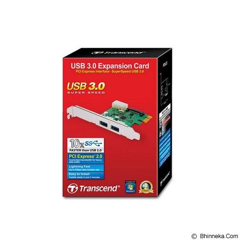 TRANSCEND USB 3.0 Expansion Card [TS-PDU3] - Memory Card Reader Internal
