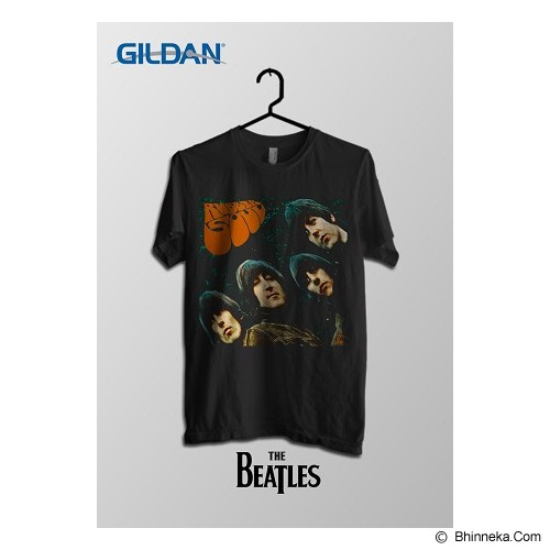 TOMOINC The Beatles Rubber Soul Kaos Band Original Gildan Size S [BTL006] - Kaos Pria