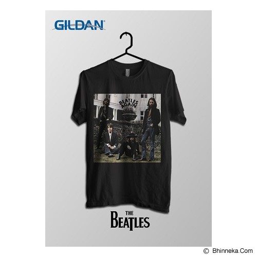TOMOINC The Beatles Again Kaos Band Original Gildan Size M [BTL013] - Kaos Pria