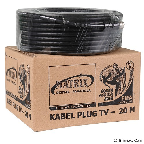 MATRIX Kabel TV Parabola 20 Meter - Digital Satellite Receiver