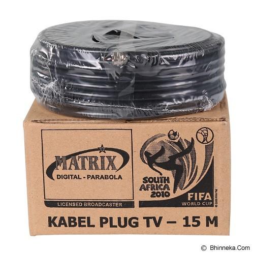 MATRIX Kabel TV Parabola 15 Meter - Digital Satellite Receiver