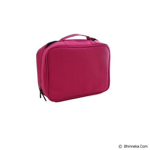 RADYSA Cosmetic Bag Organizer - Magenta - Tas Kosmetik / Make Up Bag