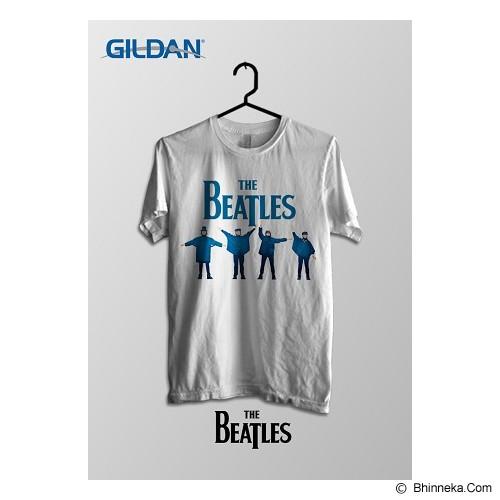 TOMOINC The Beatles Help Kaos Band Original Gildan Size XL [BTL011] - Kaos Pria