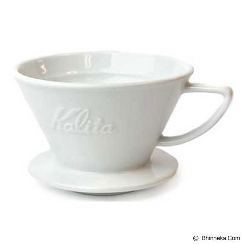 KALITA Wave Dripper Ceramic 185 - White - Gelas
