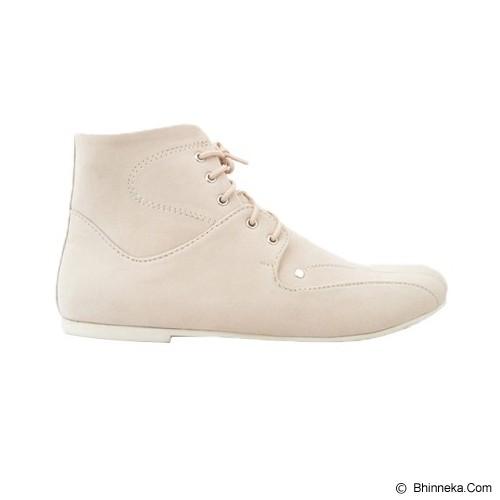 VEGA SHOES Lovely Size 36 - Cream - Casual Boots Wanita
