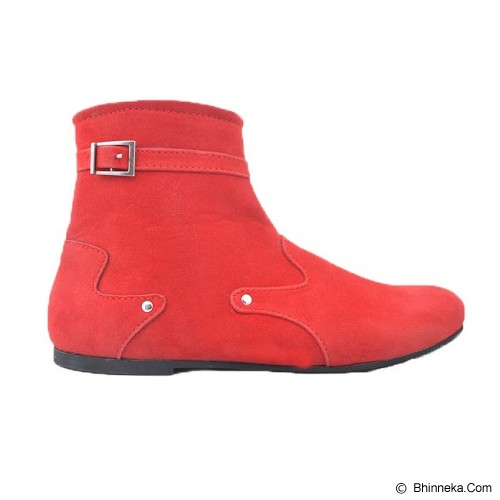 VEGA SHOES Kayla Size 37 - Red - Casual Boots Wanita