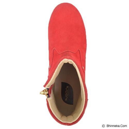 VEGA SHOES Kayla Size 38 - Red - Casual Boots Wanita