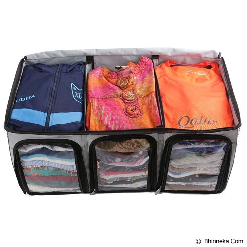 RADYSA Cloth Multifunction Organizer - Grey - Container