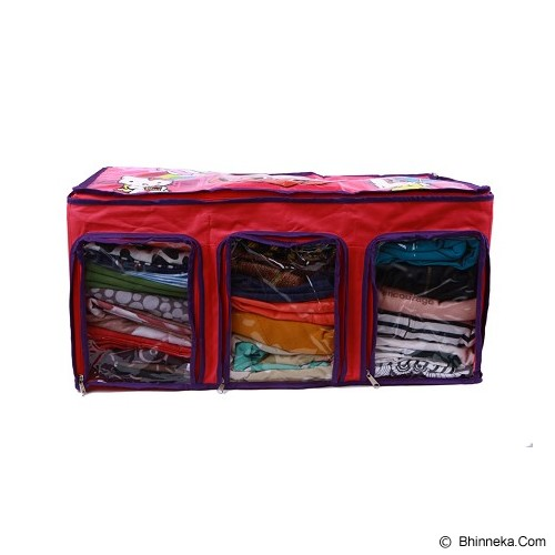 RADYSA Cloth Multifunction Organizer Karakter Hello Kitty - Red - Container