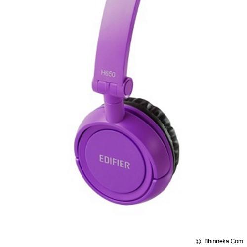 EDIFIER Headphone [H650] - Purple (Merchant) - Headphone Portable
