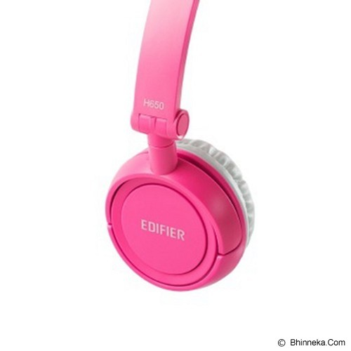 EDIFIER Headphone [H650] - Pink (Merchant) - Headphone Portable