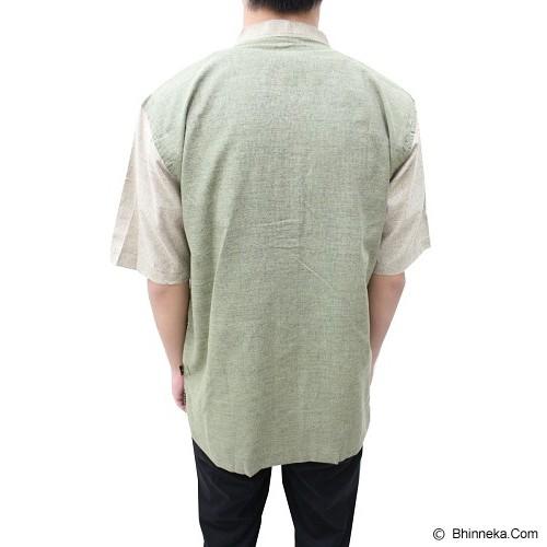 MUSLI MADANI Baju Koko Lengan Pendek  Size M [R863] - Green List Chino (V) - Baju Koko Pria