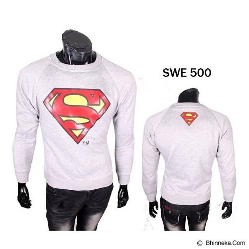 GUDANG FASHION Sweater Superman [SWE 500] - Putih - Sweater / Cardigan Pria