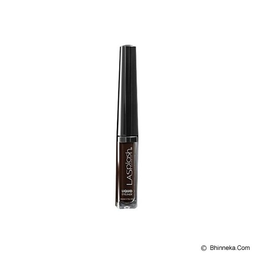 LA SPLASH Liquid Eye Liner - Dark Brown - Eyeliner