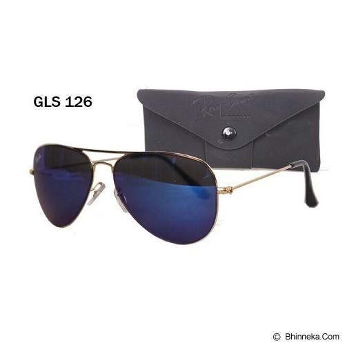 GUDANG FASHION Kacamata Pria Fashionable dengan Frame Keren [GLS 126] - Biru Tua - Kacamata Hitam Pria