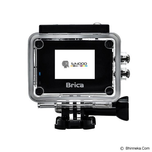 BRICA Action Camera SJ4000 - Silver - Camcorder / Handycam Flash Memory