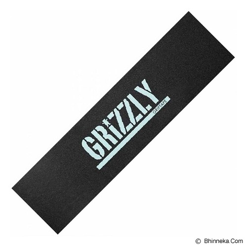 GRIZZLY Griptape MSA Stamp - White - Papan Skateboard & Aksesoris