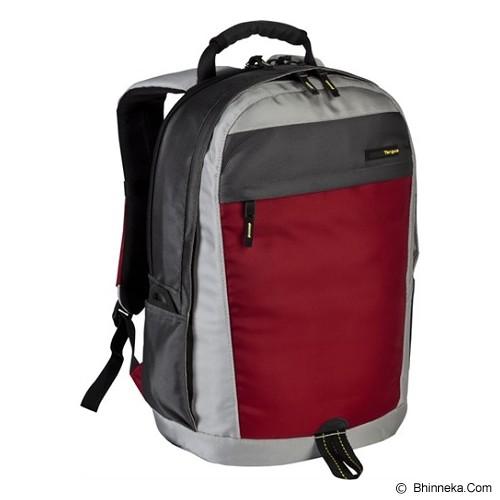 TARGUS Brick Backpack [TSB244] - Red/Grey - Notebook Backpack